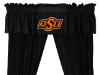 NCAA Oklahoma State Cowboys Valance - Locker Room Series