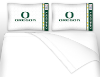 NCAA Oregon Ducks Micro Fiber Bed Sheets
