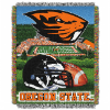 NCAA Oregon State Beavers Home Field Advantage 48x60 Tapestry Throw