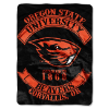NCAA Oregon State Beavers 60x80 Super Plush Throw