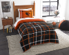 NCAA Oregon State Beavers Twin Comforter with Sham