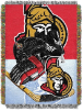 NHL Ottawa Senators Home Ice Advantage 48x60 Tapestry Throw