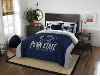 NCAA Penn State Nittany Lions QUEEN Comforter and 2 Shams