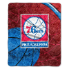NBA Philadelphia 76ers SHERPA 50x60 Throw Blanket