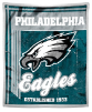 NFL Philadelphia Eagles Sherpa MINK 50x60 Throw Blanket