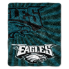 NFL Philadelphia Eagles Sherpa STROBE 50x60 Throw Blanket