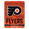 NHL Philadelphia Flyers 50x60 Micro Raschel Throw