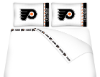 NHL Philadelphia Flyers Micro Fiber Bed Sheets