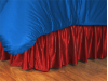 MLB Philadelphia Phillies Bed Skirt - Sidelines Series