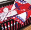 MLB Philadelphia Phillies 5 Piece Baby Crib Set
