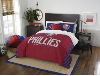 MLB Philadelphia Phillies QUEEN Comforter and 2 Shams