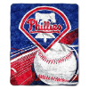 MLB Philadelphia Phillies SHERPA 50x60 Throw Blanket