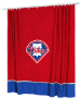 MLB Philadelphia Phillies Shower Curtain