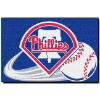 MLB Philadelphia Phillies 20x30 Tufted Rug