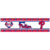 MLB Philadelphia Phillies Wall Paper Border