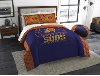 NBA Phoenix Suns QUEEN Comforter and 2 Shams