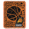 NBA Phoenix Suns 48x60 Triple Woven Jacquard Throw