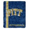 NCAA Pittsburgh Panthers Sherpa 50x60 Throw Blanket