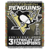 NHL Pittsburgh Penguins Commemorative 48x60 Tapestry Throw