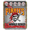 MLB Pittsburgh Pirates Commemorative 48x60 Tapestry Throw