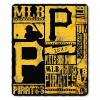 MLB Pittsburgh Pirates 50x60 Fleece Throw Blanket