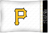 MLB Pittsburgh Pirates Micro Fiber Pillow Cases (set of 2)