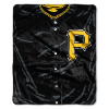 MLB Pittsburgh Pirates 50x60 Raschel Throw