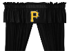 MLB Pittsburgh Pirates Valance - Locker Room Series