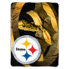 NFL Pittsburgh Steelers BEVEL 60x80 Super Plush Throw