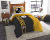 NFL Pittsburgh Steelers TWIN Size Bed In A Bag