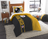 NFL Pittsburgh Steelers Twin Comforter with Sham