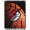 NBA Portland Trail Blazers Real Photo 48x60 Tapestry Throw