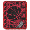 NBA Portland Trail Blazers 48x60 Triple Woven Jacquard Throw