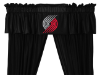 NBA Portland Trail Blazers Valance - Locker Room Series