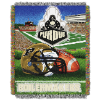NCAA Purdue Boilermakers Home Field Advantage 48x60 Tapestry Throw