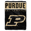 NCAA Purdue Boilermakers OVERTIME 60x80 Super Plush Throw