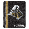NCAA Purdue Boilermakers Sherpa 50x60 Throw Blanket