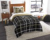 NCAA Purdue Boilermakers Twin Comforter with Sham