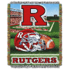 NCAA Rutgers Scarlet Knights Home Field Advantage 48x60 Tapestry Throw