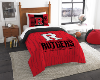 NCAA Rutgers Scarlet Knights Twin Comforter Set