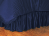 NFL San Diego Chargers Bed Skirt - Locker Room Series