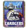 NFL San Diego Chargers Home Field Advantage 48x60 Tapestry Throw