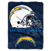 NFL San Diego Chargers 60x80 Super Plush Throw Blanket