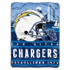 NFL San Diego Chargers 60x80 Silk Touch Raschel Throw Blanket