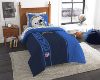 NFL San Diego Chargers TWIN Size Bed In A Bag