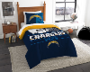 NFL San Diego Chargers Twin Comforter Set