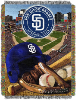 MLB San Diego Padres Home Field Advantage 48x60 Tapestry Throw