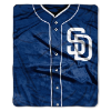 MLB San Diego Padres 50x60 Raschel Throw