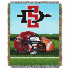 NCAA San Diego State Aztecs Home Field Advantage 48x60 Tapestry Throw
