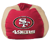 NFL San Francisco 49ers Bean Bag Chair